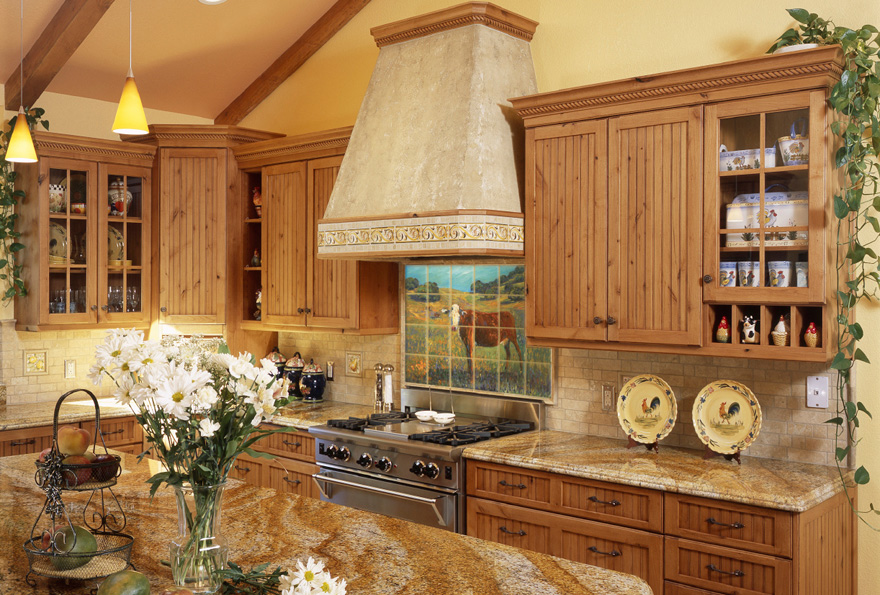 Kitchen Wall Mural Accent