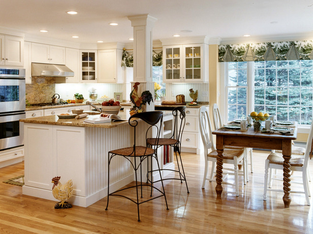 Interesting Ways to Design a Kitchen Country Kitchen Design – Full ...