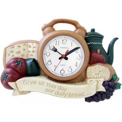 New Haven Daily Bread Wall Clock