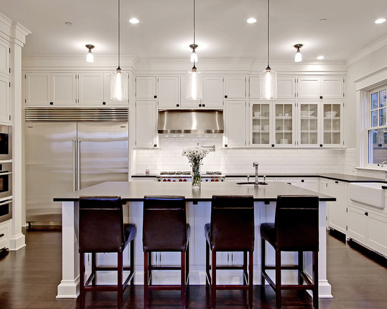 White Kitchen Cabinets painted kitchen cabinet ideas freshome White Kitchen Cabinets